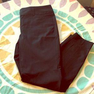 The Limited Black Crop Pants